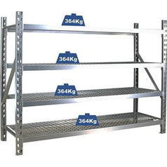 Grip Grip 29205 1960mm 4 Tier Industrial Steel Shelf