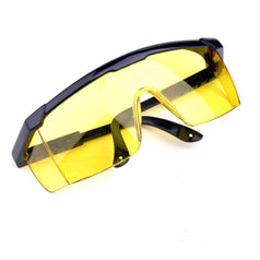 Grip Grip 30256 Yellow Tinted Adjustable Safety Glasses