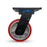 Grip 41952 200mm 1400kg Heavy Duty Poly Cast Iron Swivel Castor