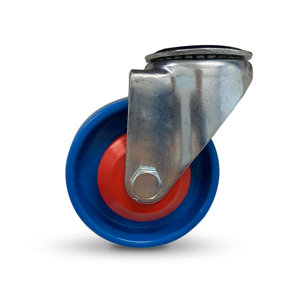 Grip 41981 100mm 200kg Industrial Blue Nylon Swivel Castor