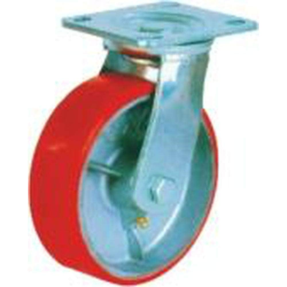 Grip Grip 43033 125mm 280kg Poly Moulded Cast Iron Swivel Castor