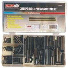 Grip Grip 43060 315 Piece Small & Large Roll Pin Assortment Set