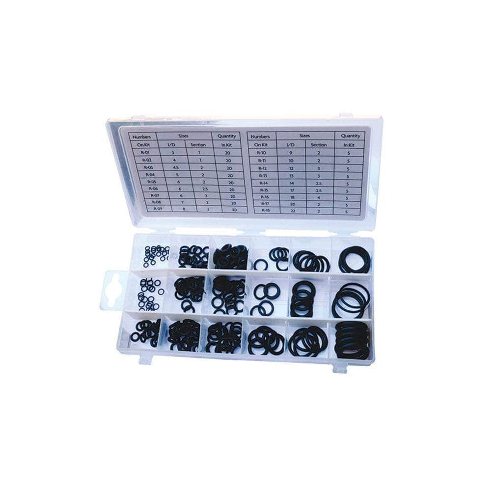 Grip Grip 43235 225 Piece SAE Nitrile O-Ring Assortment Set