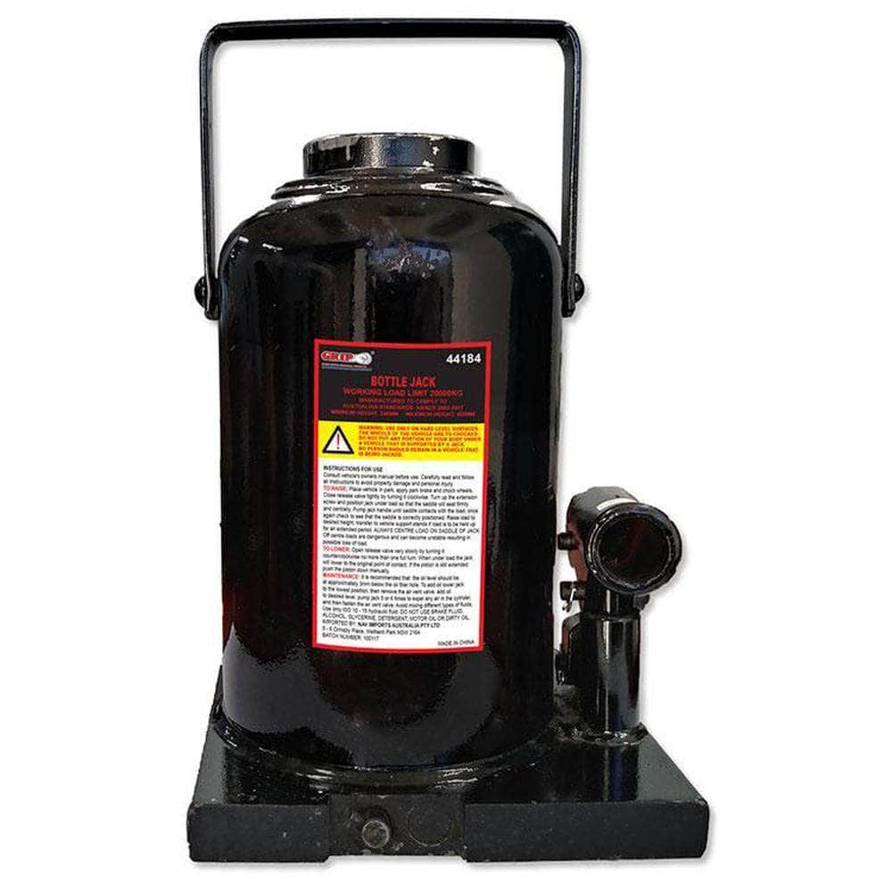 Grip Grip 44172 15000kg (15T) Hydraulic Bottle Jack