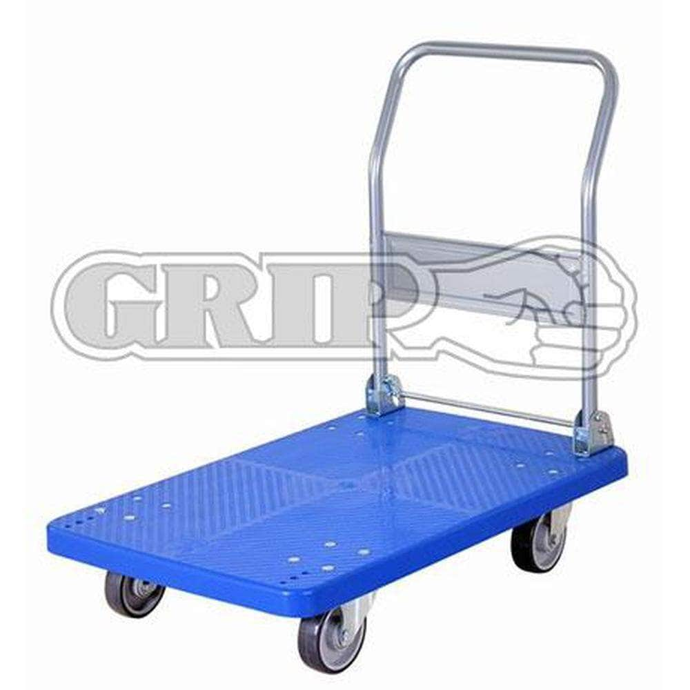 Grip Grip 52006 300kg 600x900mm Foldable Industrial Plastic Platform Hand Trolley