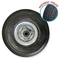 "Grip Grip 52108 260mm 180kg 5/8"" Offset Puncture Proof Poly Foam Filled Wheel"