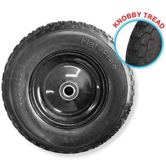 Grip Grip 52120 400mm 180kg Flat Free Rubber Steel Rim Wheel