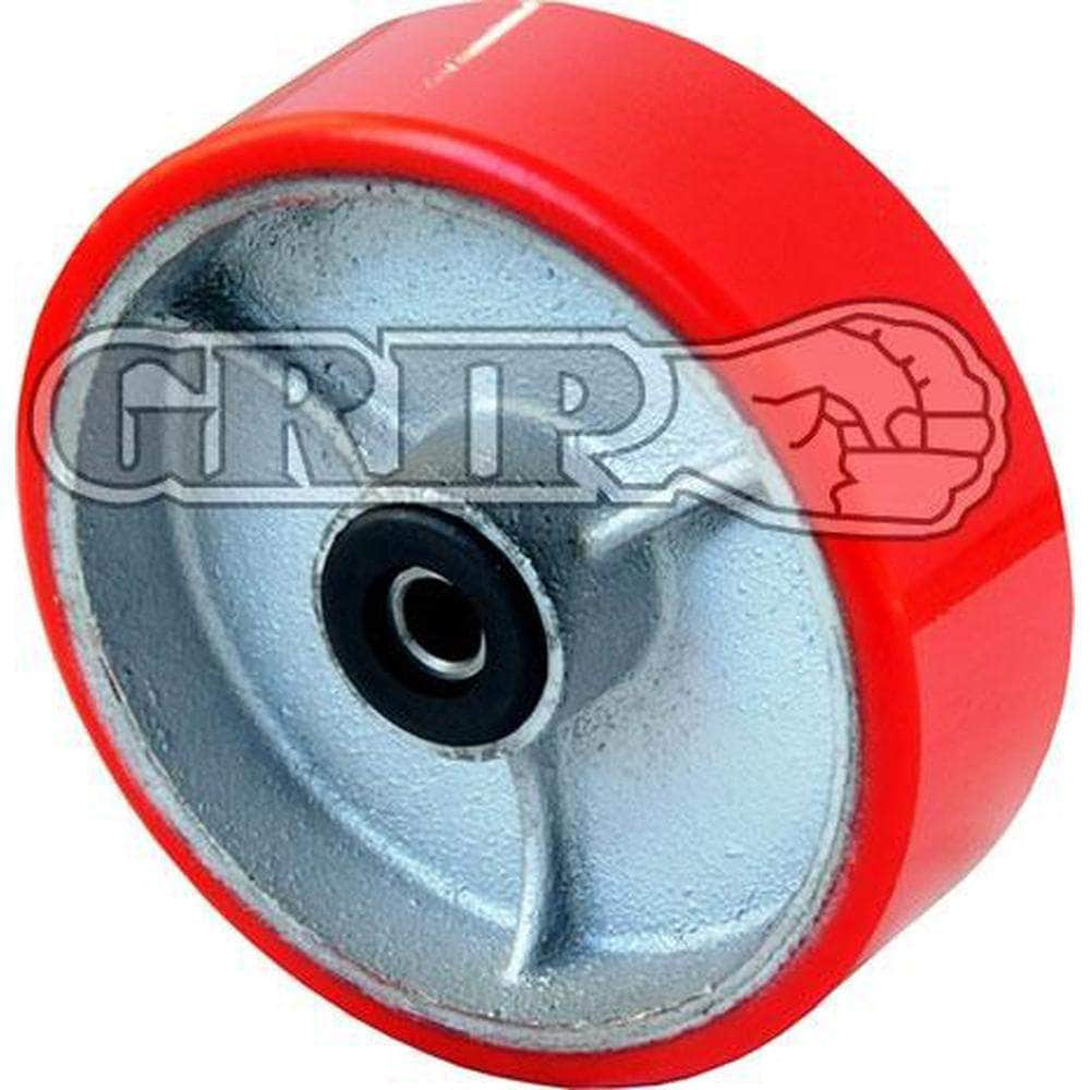 Grip Grip 52162 152mm 400kg Poly Moulded Cast Iron Wheel