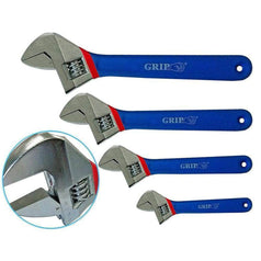 Grip Grip 87042 4 Piece Cushion Grip Adjustable Wrench Set