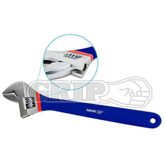 "Grip Grip 87130 450mm (18"") Heavy Duty Jumbo Adjustable Wrench"