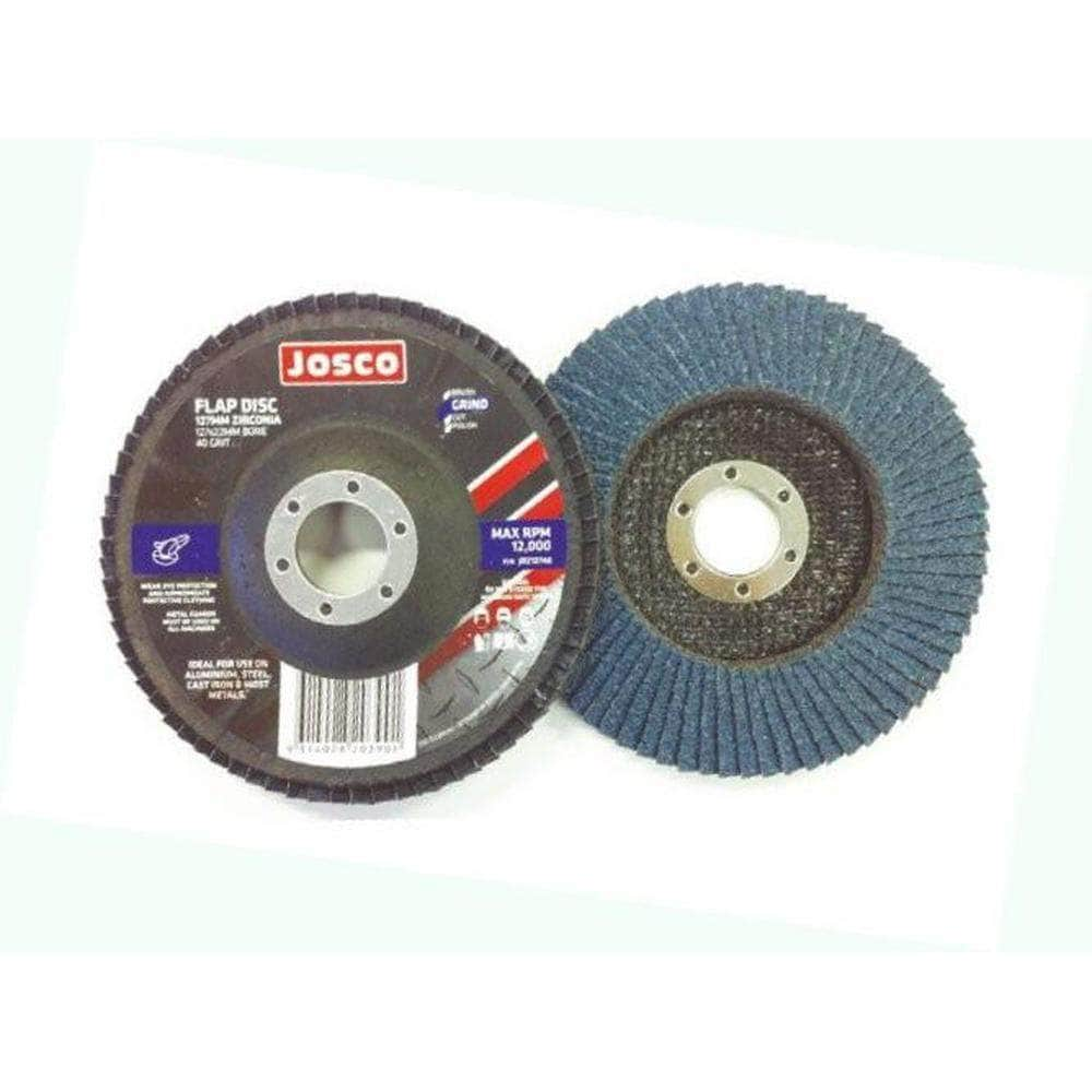 Josco Josco JDZ100120 100mm x 120 Grit Zirconia Flap Disc