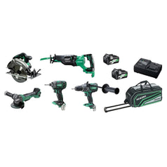 HiKOKI-KC36D5P-HRZ-5-Piece-Cordless-Brushless-MultiVolt-Combo-Kit