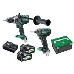 HiKOKI-KC36DBDL-HRZ-2-Piece-Cordless-Brushless-MultiVolt-Combo-Kit