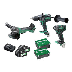 HiKOKI-KC36DDBL-HRZ-3-Piece-Cordless-Brushless-MultiVolt-Combo-Kit
