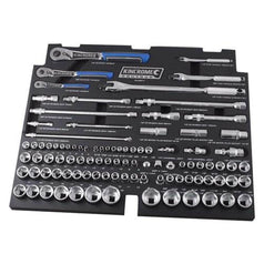 Kincrome Kincrome EVA567T 97P 97 Piece Metric & SAE Lok-On Sockets & Accessories Set with EVA Tray