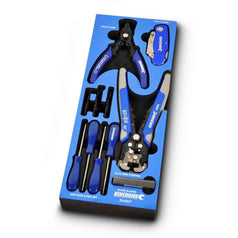 Kincrome Kincrome EVA84T 11 Piece Pliers & Knife & Hook & Pick Set with EVA Tray