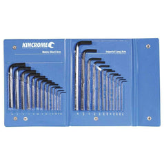 Kincrome Kincrome HKW25C 25 Piece Metric & SAE Hex Key Wrench Set