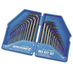 Kincrome Kincrome HKW30 30 Piece Metric & SAE Hex Key Wrench Set