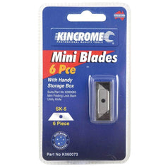 Kincrome Kincrome K060073 6 Piece Mini Blades