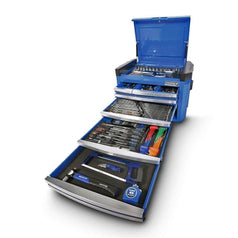 Kincrome Kincrome K1507 236 Piece Metric & SAE 8 Drawer Blue Contour Tool Chest