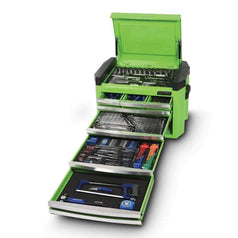 Kincrome Kincrome K1507G 236 Piece Metric & SAE 8 Drawer Green Contour Tool Chest