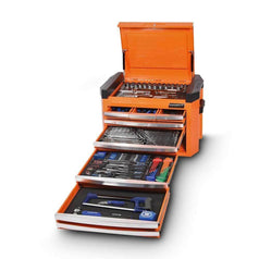 Kincrome Kincrome K1507O 236 Piece Metric & SAE 8 Drawer Orange Contour Tool Chest