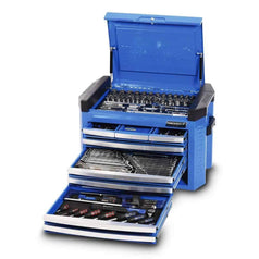 Kincrome Kincrome K1509 207 Piece Metric & SAE 8 Drawer Blue Electric Contour Tool Chest