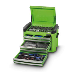 Kincrome Kincrome K1509G 207 Piece Metric & SAE 8 Drawer Green Contour Tool Chest