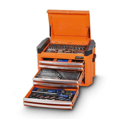 Kincrome Kincrome K1509O 207 Piece Metric & SAE 8 Drawer Orange Contour Tool Chest