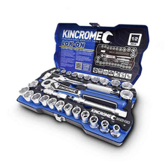 "Kincrome Kincrome K27024 29 Piece Metric 1/2"" Square Drive Lok-On Socket Set"
