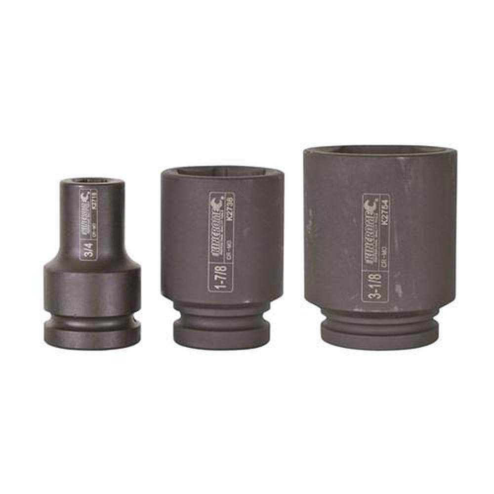 "Kincrome Kincrome K2744 2-3/8"" 6 Point 1"" Square Drive Deep Impact Socket"