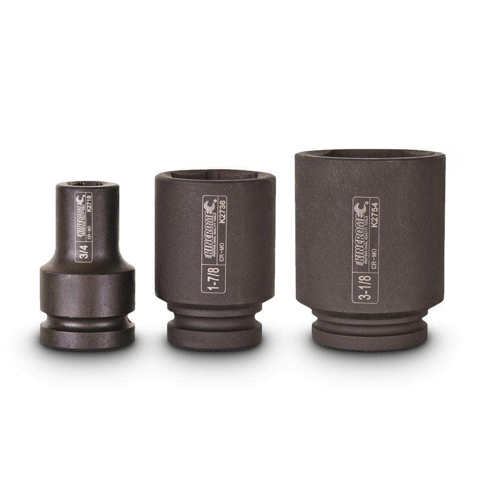 "Kincrome Kincrome K2748 2-5/8"" 6 Point 1"" Square Drive Deep Impact Socket"