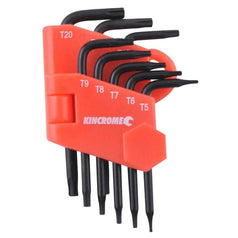 Kincrome Kincrome K5087 8 Piece Mini Tamperproof Torx Set