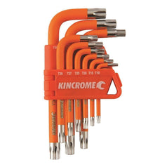 Kincrome Kincrome K5145 9 Piece Short Series Tamper Proof Torx Key Set
