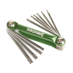 Kincrome Kincrome K5149 10 Piece Folding Torx Key Set