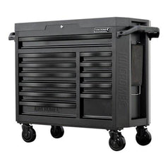 Kincrome Kincrome K7542 12 Drawer Black Series Contour Wide Roller Cabinet