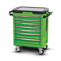 Kincrome Kincrome K7747G 7 Drawer Green Monster Contour Tool Roller Cabinet