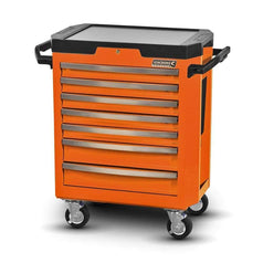 Kincrome Kincrome K7747O 7 Drawer Orange Flame Contour Tool Roller Cabinet