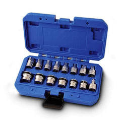 Kincrome Kincrome K8157 15 Piece Magnetic Drain Plug Socket Set