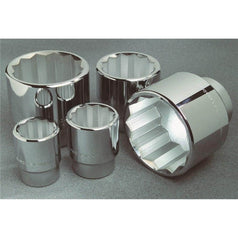 "Kincrome Kincrome KC121C 1-7/16"" SAE 3/4"" Square Drive Chrome Socket"