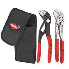 Knipex Knipex 002072V04 2 Piece Cobra Plier Set with Belt Pouch