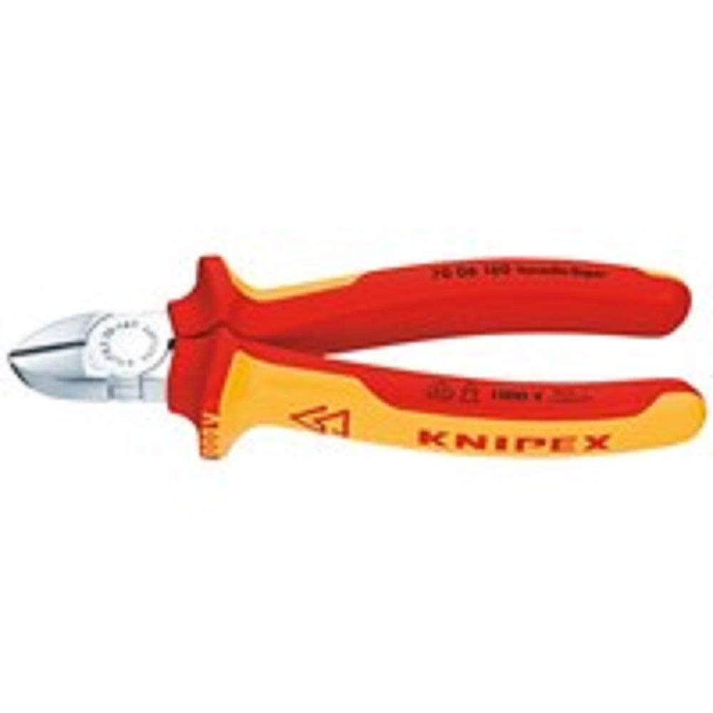 "Knipex Knipex 7006140 140mm (6"") 1000V Insulated Diagonal Cutter"