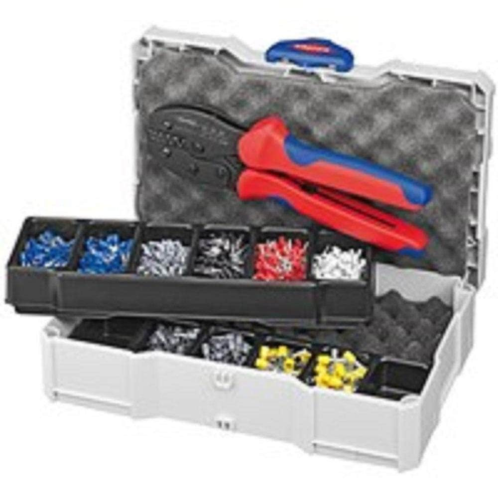 Knipex Knipex 979023 End Sleeve Crimper Tool Kit
