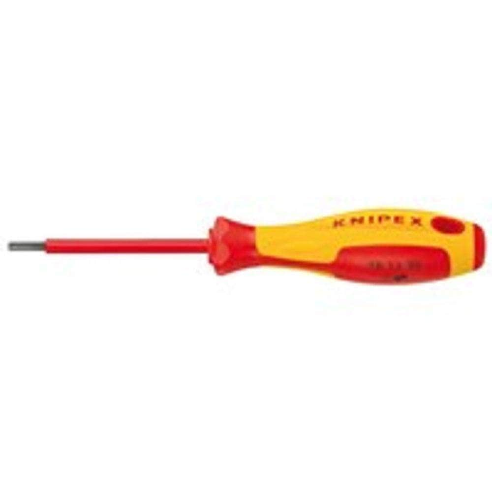 Knipex Knipex 981340 4mm x 237mm 1000V Insulated HEX Socket Screwdriver