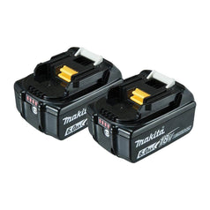Makita Makita 198490-0 2 Pack 18V 6.0Ah Cordless Li-ion Batteries Set