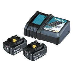 Makita Makita 199179-3 DC18RC Rapid Battery Charger with 5.0Ah Batteries
