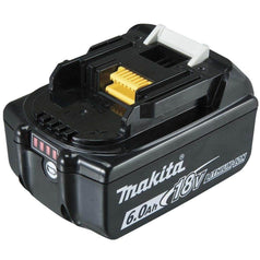 Makita Makita BL1860B-L 18V 6.0Ah Li-Ion Cordless Slide Battery