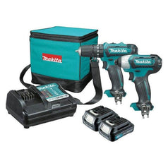 Makita Makita CLX202 2 Piece 12V MAX 1.5Ah Cordless Combo Kit