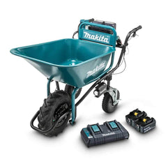 Makita Makita DCU180PT2B 36V (18Vx2) 5.0Ah Cordless Brushless Bucket Wheelbarrow Kit