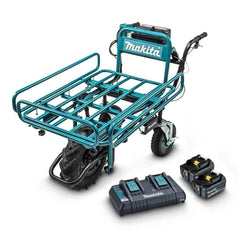 Makita Makita DCU180PT2F 36V (18Vx2) 5.0Ah Cordless Brushless Pipe-Frame Wheelbarrow